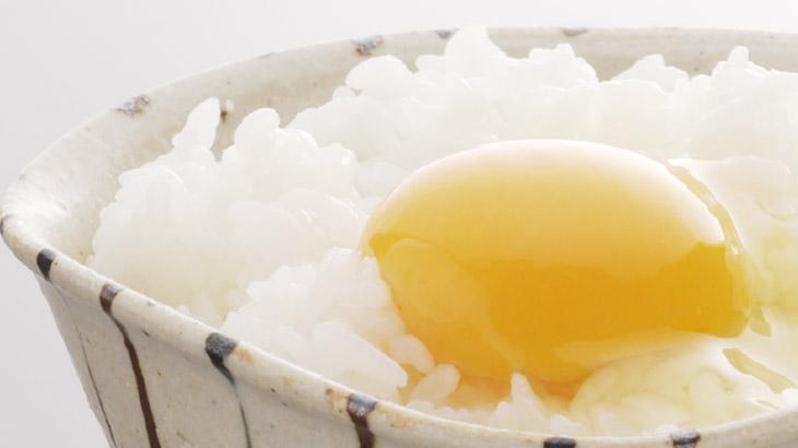 卵かけご飯の拡大画像