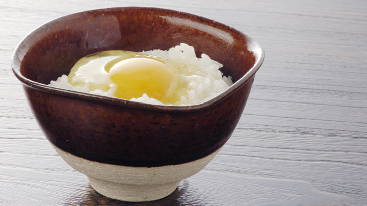 卵かけご飯専用茶碗