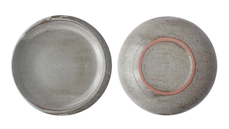 カレー専用皿の形がわかる俯瞰写真