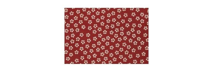 印伝の模様「小桜」の画像