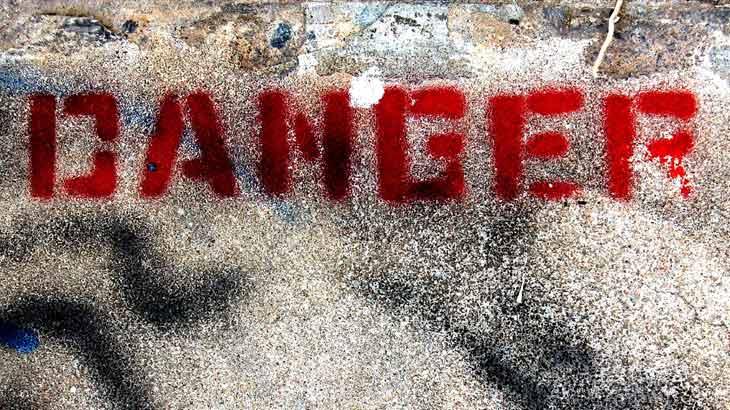 danger-「危険」のイメージ画像