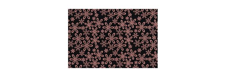 印伝の模様「雪割草」の画像