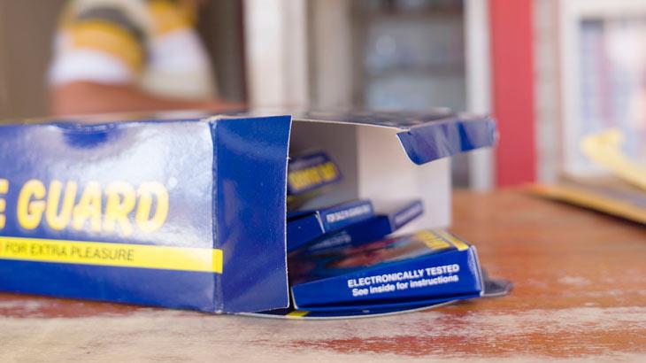 箱を開封際のイメージ画像