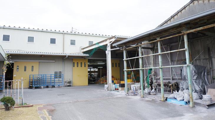 弥生陶園の工場外観