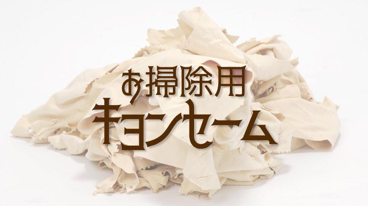 お掃除用キョンセームのアイキャッチ画像