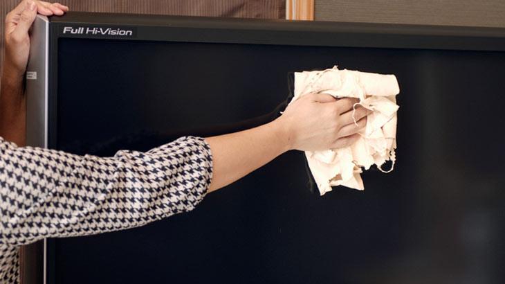 お掃除用キョンセームの使用イメージ