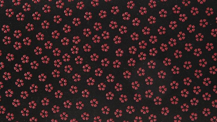 印伝の小桜柄-1