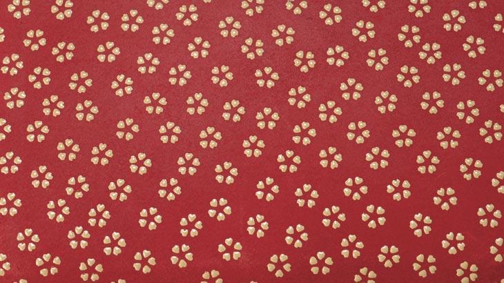 印伝の小桜柄-2