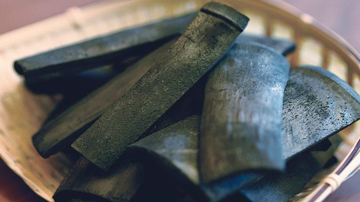 竹炭(たけすみ/ちくたん)のイメージ画像