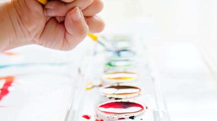 水彩絵の具のイメージ