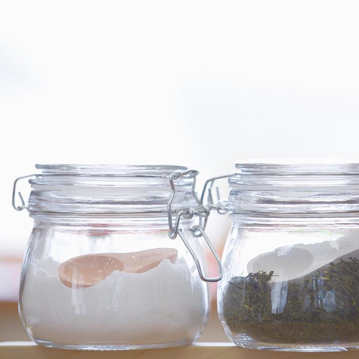soilの茶さじ使用イメージ